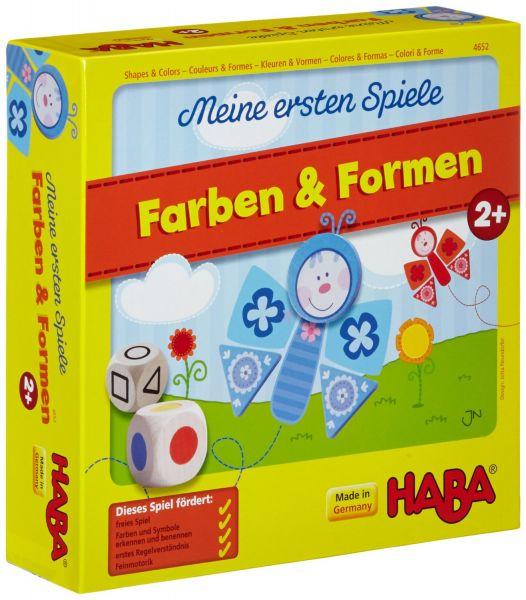 HABA 4652 - Meine ersten Spiele - Farben & Formen