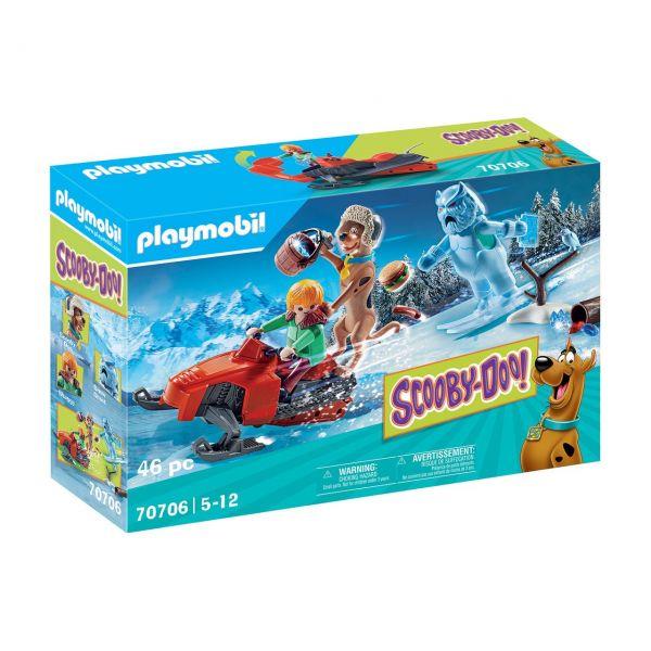 PLAYMOBIL 70706 - SCOOBY-DOO! - Abenteuer mit Snow Ghost