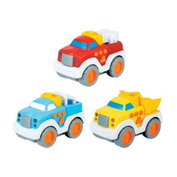 BEEBOO 407677 - Baby Press & Go Fahrzeug, 1 Stk., Farbauswahl nicht möglich