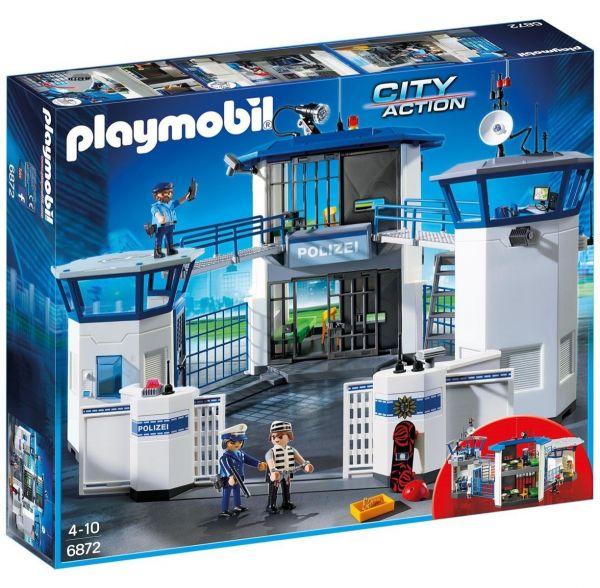 PLAYMOBIL 6872 - City Action Polizei - Polizei-Kommandozentrale mit Gefängnis