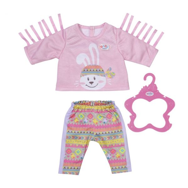 Zapf Creation 830178 - BABY born® - Trendy Pullover Outfit, 43cm