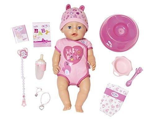 Zapf Creation 824368 - BABY born® Puppe - Soft Touch Girl, blaue Augen