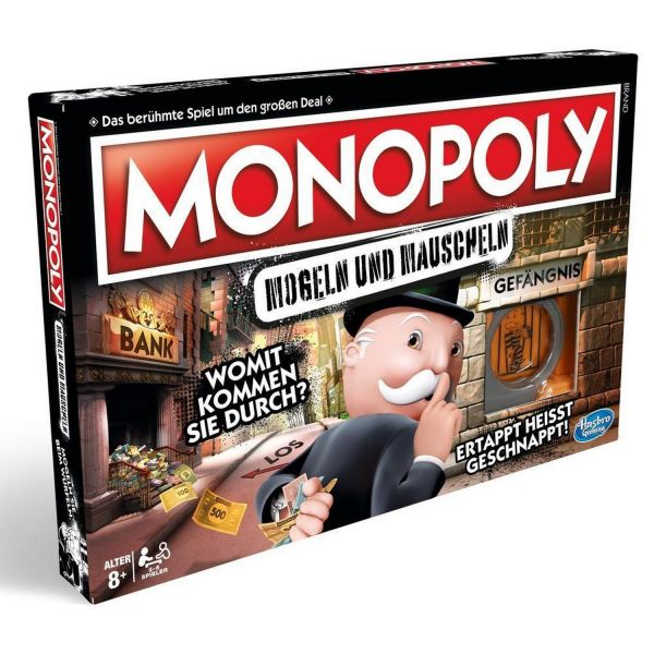 HASBRO E1871 - Gesellschaftsspiel - Monopoly Mogeln und Mauscheln