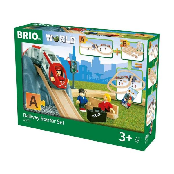 BRIO 37730 - World - Eisenbahn Starter Set A