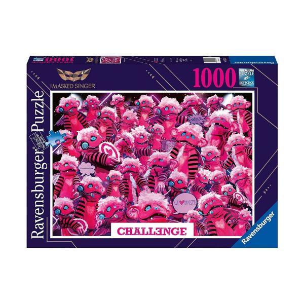 RAVENSBURGER 16771 - Puzzle - Challenge Monsterchen, 1000 Teile