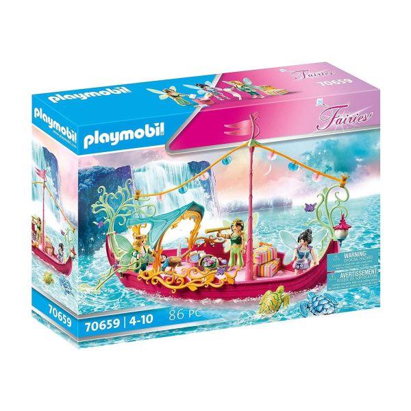 PLAYMOBIL 70659 - Fairies - Romantisches Feenboot
