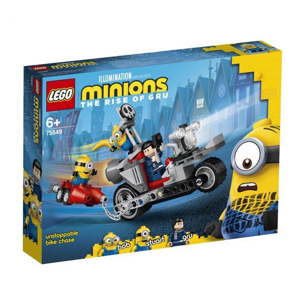 LEGO 75549 - Minions - Unaufhaltsame Motorrad-Jagd