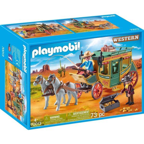 PLAYMOBIL 70013 - Western - Westernkutsche