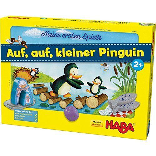 HABA 301842 - Meine ersten Spiele - Auf, auf, kleiner Pinguin!