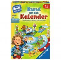 RAVENSBURGER 24984 - Spielend neues Lernen - Rund um den Kalender