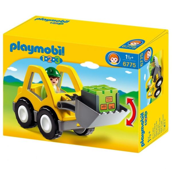 PLAYMOBIL 6775 - 1.2.3 - Radlader