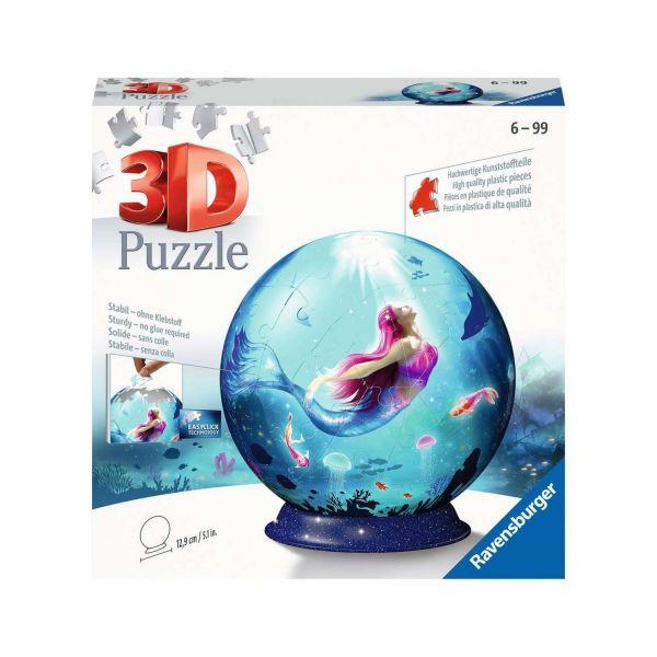 RAVENSBURGER 11250 - 3D Puzzle - Bezaubernde Meerjungfrauen, 72 Teile