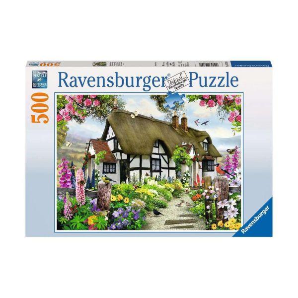 RAVENSBURGER 14709 - Puzzle - Verträumtes Cottage, 500 Teile