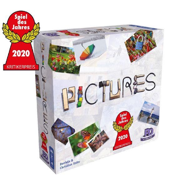 PD-Verlag PDV09723 - Gesellschaftsspiel - Pictures *Spiel des Jahres 2020*