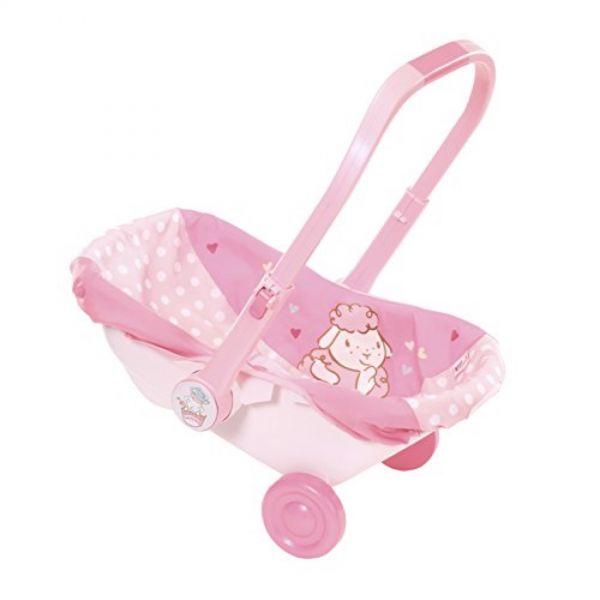 Zapf Creation 700709 - Baby Annabell® Accessories - Babyschale mit Rädern