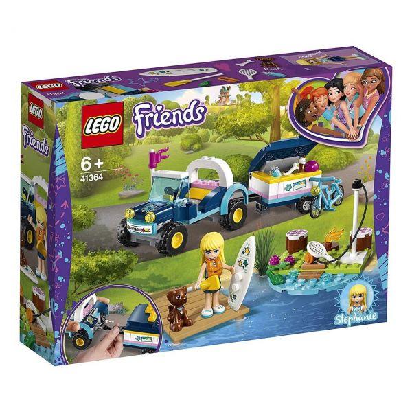 LEGO 41364 - Friends - Stephanies Cabrio mit Anhänger
