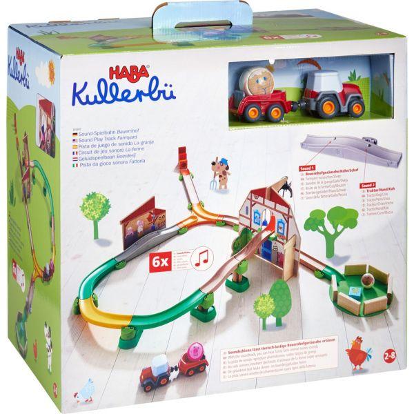 HABA 305397 - Kullerbü - Sound-Spielbahn Bauernhof