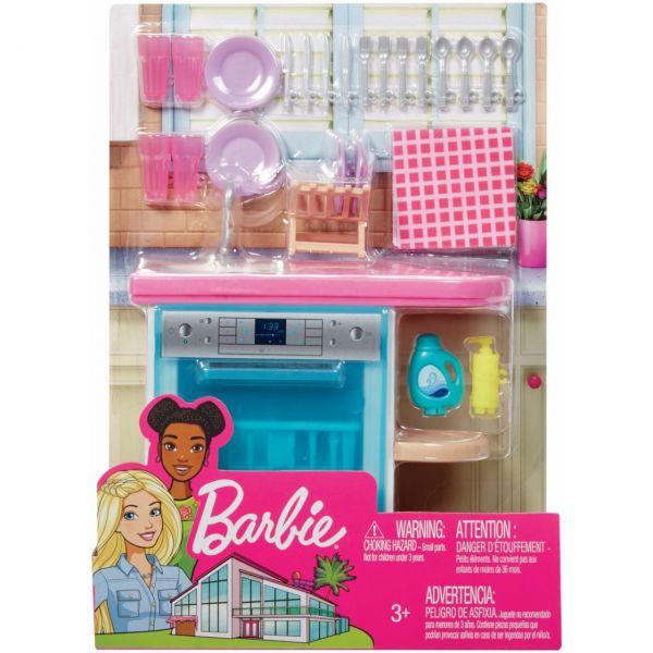 MATTEL FXG35 - Barbie - Möbel-Spielset Spülmaschine