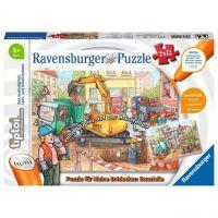 RAVENSBURGER 00049 - tiptoi Puzzle - Baustelle Puzzle, 2 x 12 Teile