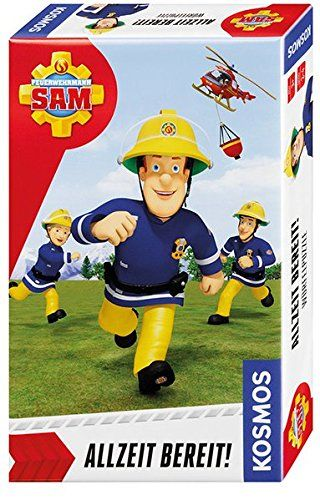 KOSMOS 711337 - Mitbringspiel - Feuerwehrmann Sam, Allzeit bereit!