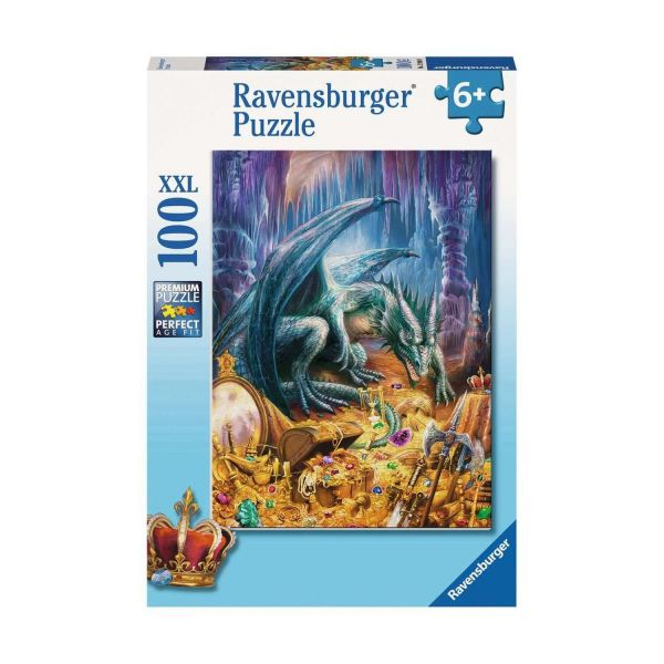 RAVENSBURGER 12940 - Puzzle - Der Höhlendrache, 100 Teile XXL