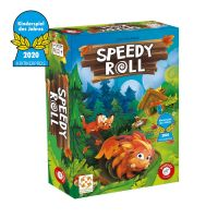 PIATNIK 7168 - Kinderspiel - Speedy Roll - Kinderspiel des Jahres 2020