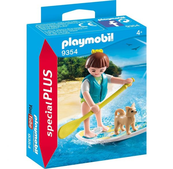 PLAYMOBIL 9354 - Special Plus - Stand Up Paddling