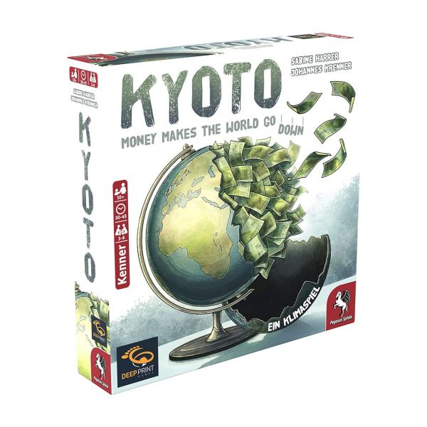 PEGASUS 57801G - Kennerspiel - Kyoto (Deep Print Games), deutsche Ausgabe