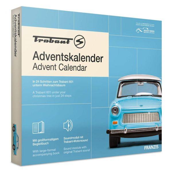 FRANZIS 67115 - Adventskalender - Trabant, 2020