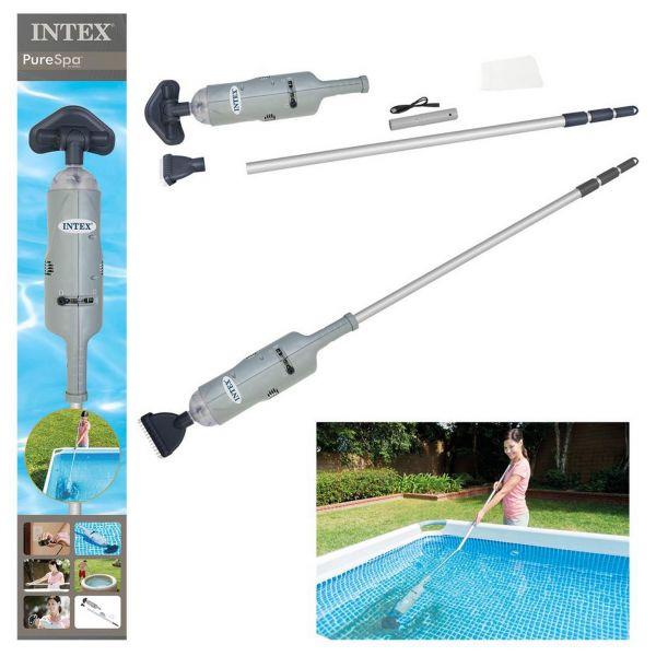 INTEX 28620 - Poolzubehör - Akkubetriebener Sauger zu Poolreinigung