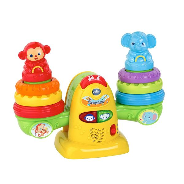 VTECH 80513804 - Baby - Stapelspaßwippe