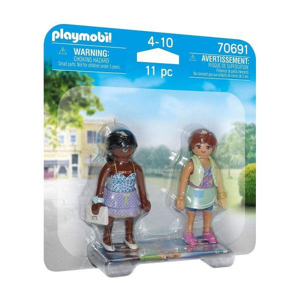 PLAYMOBIL 70691 - DuoPacks - Shopping-Girls