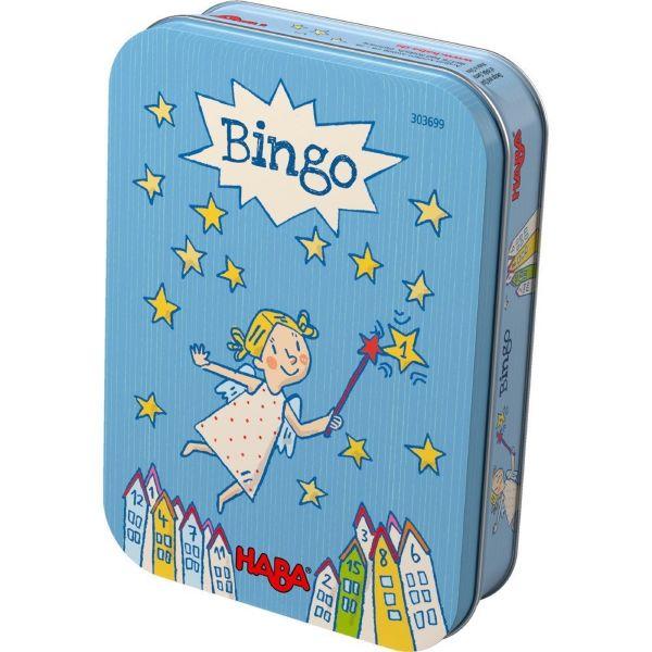 HABA 303699 - Mitbringspiel in Metalldose - Bingo