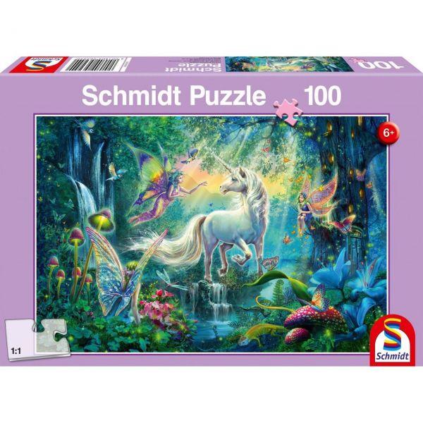 SCHMIDT 56254 - Puzzle - Im Land der Fabelwesen, 100 Teile