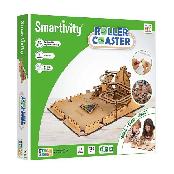 SMARTIVITY 201 - Konstruktionsspielzeug - Roller Coaster, 136 Teile
