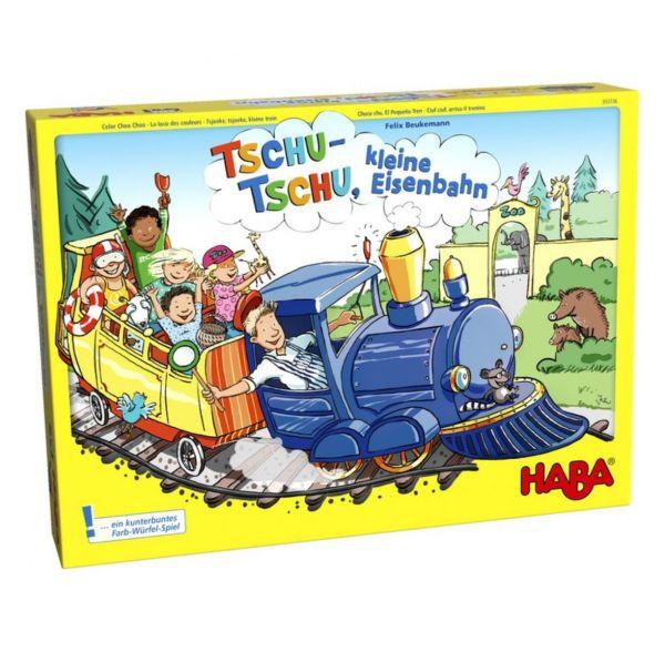 HABA 303736 - Gesellschaftsspiel - Tschu-tschu, kleine Eisenbahn