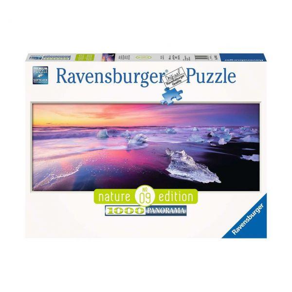 RAVENSBURGER 15075 - Puzzle - Jökulsárlón, Island, 1000 Teile