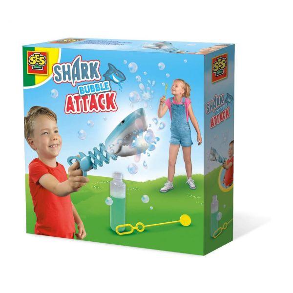 SES 02265 - Gartenspielzeug - Seifenblasen Hai Angriff