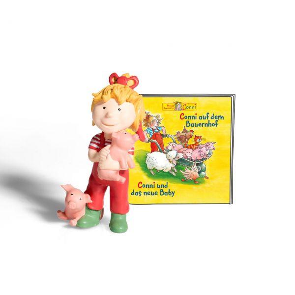 TONIES 10011 - Hörspiel - Conni auf dem Bauernhof, Conni und das neue Baby