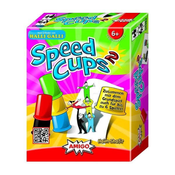 AMIGO 04982 - Familienspiele - Speed Cups 2