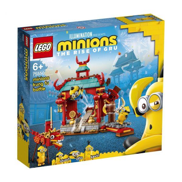 LEGO 75550 - Minions - Minions Kung Fu Tempel