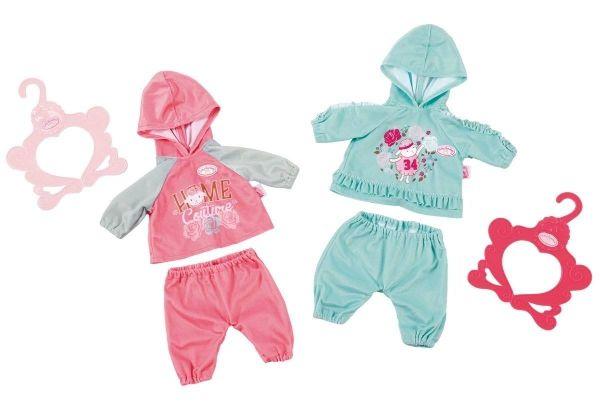 Zapf Creation 702062 - Baby Annabell® Bekleidung - Baby-Anzüge, 43cm, 2-fach sortiert