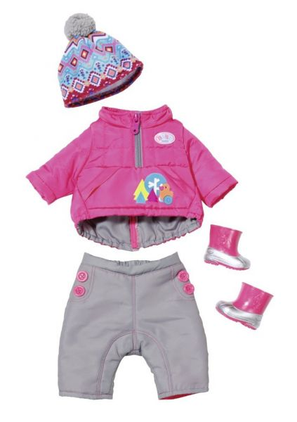 Zapf Creation 823811 - BABY born® Play & Fun - Deluxe Winter Set
