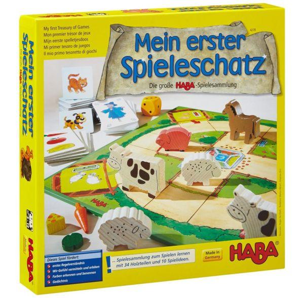 HABA 4278 - Mein erster Spieleschatz - Die große HABA Spielesammlung