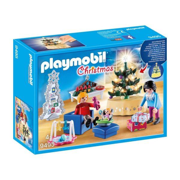 PLAYMOBIL 9495 - Christmas - Weihnachtliches Wohnzimmer
