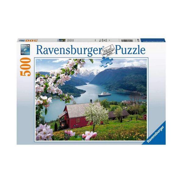 RAVENSBURGER 15006 - Puzzle - Skandinavische Idylle, 500 Teile