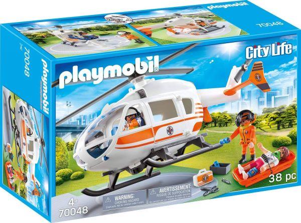 PLAYMOBIL 70048 - City Life Rettung - Rettungshelikopter