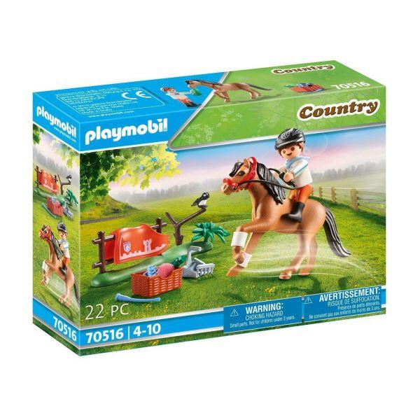 """PLAYMOBIL 70516 - Country Ponyhof - Sammelpony """"Connemara"""""""