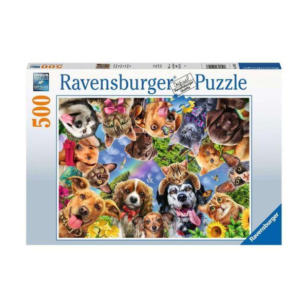 RAVENSBURGER 15024 - Puzzle - Unsere Lieblinge, Haustiere, 500 Teile