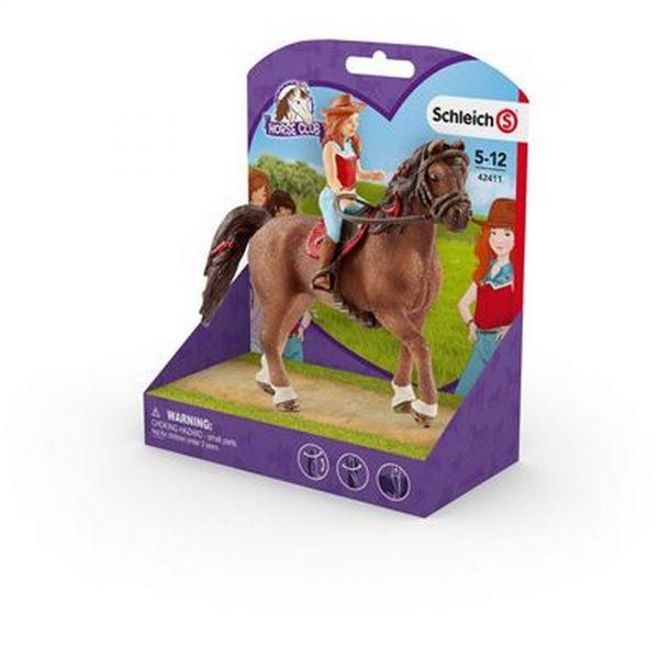 SCHLEICH 42411 - Horse Club - Hannah und Cayenne
